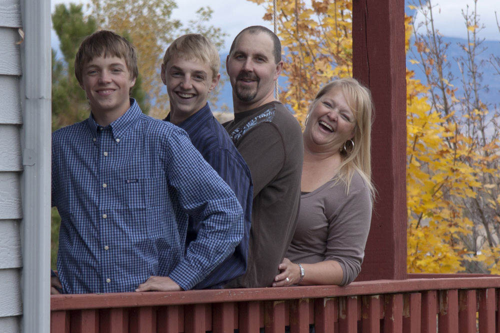 Family Photo Missoula Montana photo